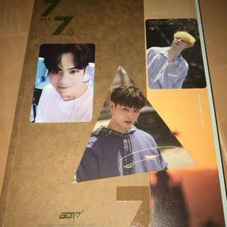 ONHAND UNSEALED ALBUM GOT7 7OF 7