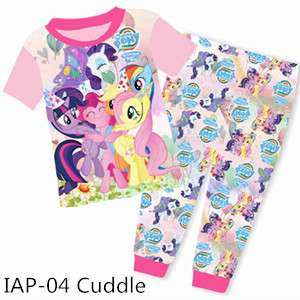 My Little Pony short sleeve Pajamas