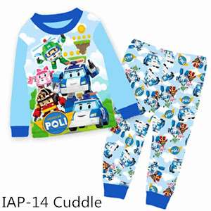 Robocar Poli Long sleeve Pajamas
