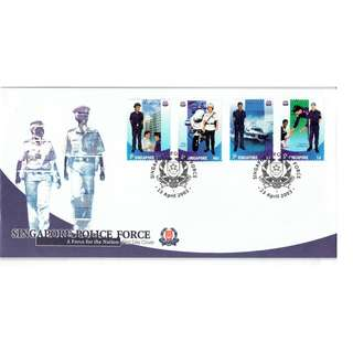 FDC #43  Singapore Police Force