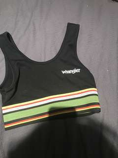 Wrangler crop top