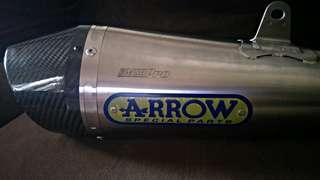 Slip-on Arrow Exhaust (kawasaki Ninja 250)
