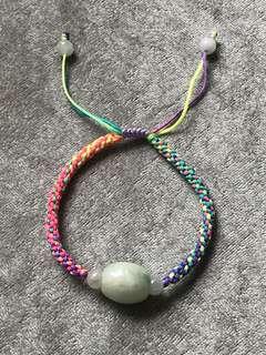 天然翡翠手繩