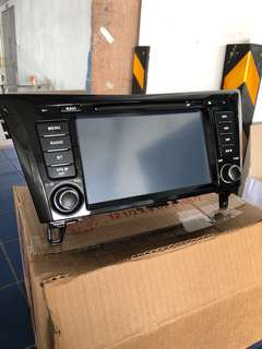Original Nissan Qashqai Head Unit (including installation)