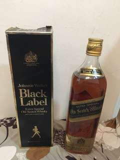 Johnny Walker Extra Special old Scott whisky 75cls