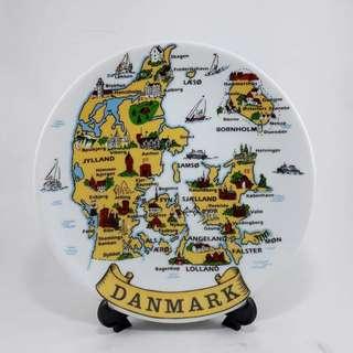 Piring souvernir Denmark