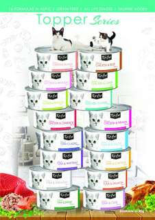 Kit Can Wet Food 16 Favours x 24cans