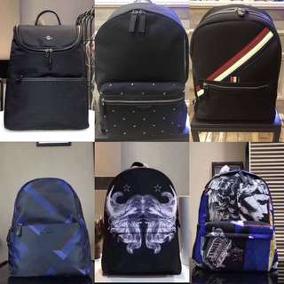 Coach Blueberry Balenziaga Givenchy backpack