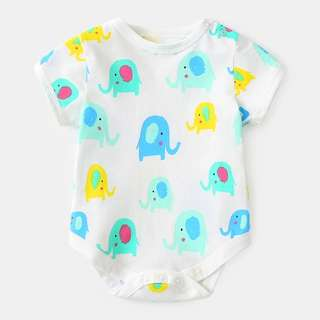 🚚 Elephant Prints Romper/Body Suit
