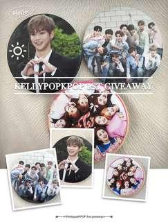 Mini giveaway on kellypopkpop twt !!!