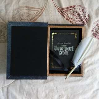 A Series of Unfortunate Events Special Merch/Notebook