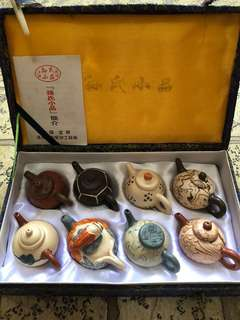 Chinese miniature Teapot collection set