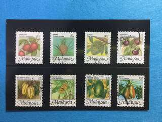 1986 National Fruit Definitive Set 8v.