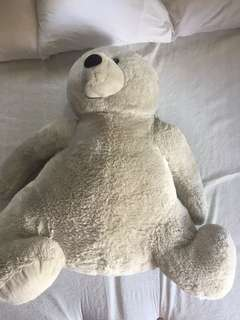 Kellytoy Giant Polar Bear stuffed toy