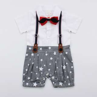 Handsome Star Jumpsuit for Baby Boy