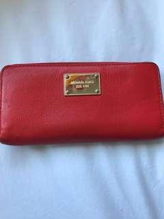 Michael Kors Tangerine Wallet
