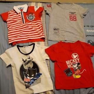 男童5號衣 四件組