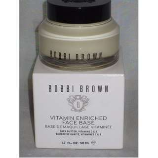 Bobbi Brown Vitamin Enriched Face Base 50ml JEFFREE STAR APPROVED BRAND NEW IN BOX & AUTHENTIC (Price is Firm)
