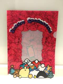 Sanrio A4 PVC file folder 可放相作封面