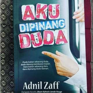 Novel Melayu : Aku Dipinang Duda