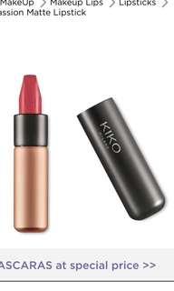NEW KIKO matte lipstick