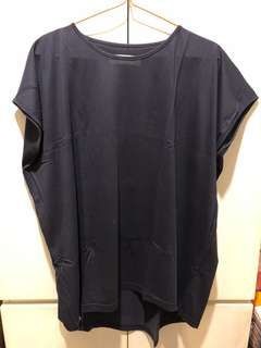 Cotton ink top free size