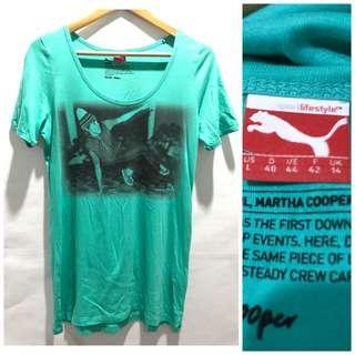 "Puma ""Martha Cooper"" Collection Cotton Shirt"