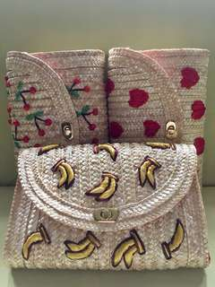 Summer banig rattan bags for sale
