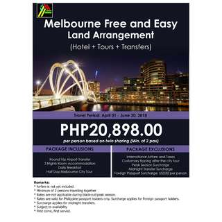 Melbourne Free and Easy Land Arrangement