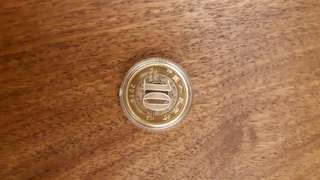 中國2016年10元雞年紀念幣