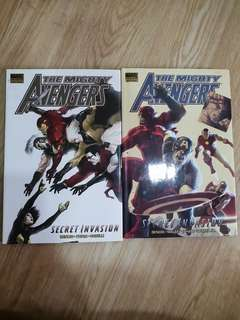 The Mighty Avengers Vol 3 & 4 (Book 1 & 2 of Secret Invasion)