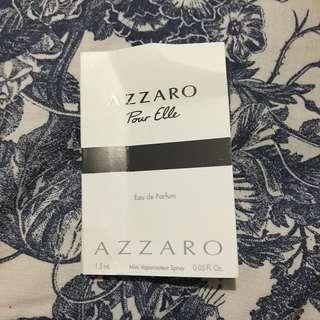 sample parfum azzaro pour elle #freeongjabodetabek