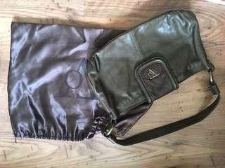 TOV (Dutch brand) handbag with real python leather