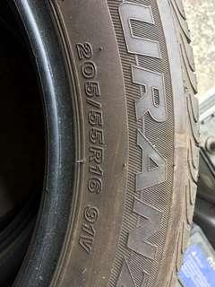 輪胎 2手胎 有2顆
