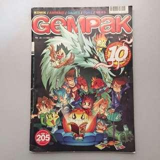 Majalah Gempak 10th anniversary