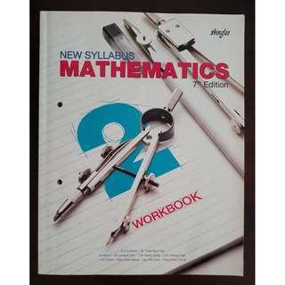New Syllabus Mathematics 7th Edition Workbook