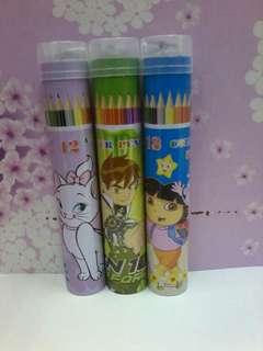 Coloring pencil / pensel warna borong