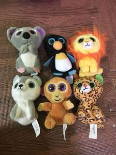 MCD TOYS/ANIMALS/ZOO/MCDONALDS/HAPPY MEAL