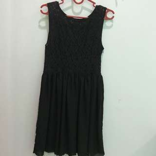 Dress Ezpresso hitam