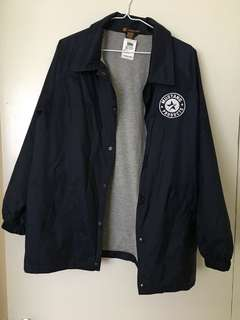 Navy blue Mustang Wind breaker