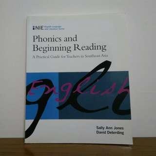 Phonics and Beginning Reading (Jones & Deterding)