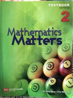 Mathematics Matters Secondary 2 Express Textbook