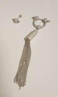 silver earrings純銀耳環