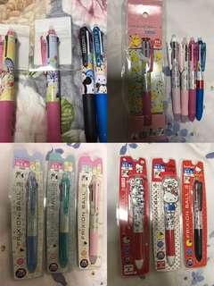 Ready stock - pilot sanrio multi frixion pen