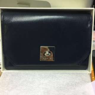 95% New Agnes b wallet with coins bag 銀包 錢包 💯% authentic 購自太古城專門店