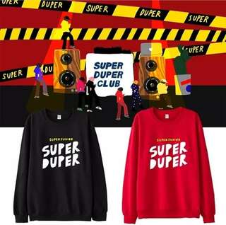 Preorder - SUPER JUNIOR SWEATSHIRT *S-3XL* exc.pos