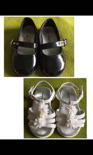 二手  女童鞋  兩雙300