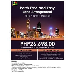 Perth Free and Easy Land Arrangement