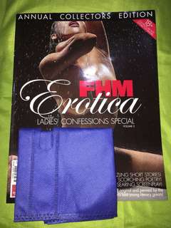 FHM Erotica Ladies' Confessions Special Magazine Vol 2