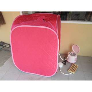 Portable Steam Sauna / Beauty SPA Sauna Highly Portable Alat Terapi Kesehatan